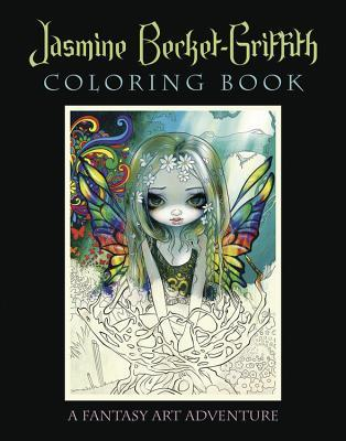 Libro de colorear Jasmine Becket-Griffith: A Fantasy Art Adventure