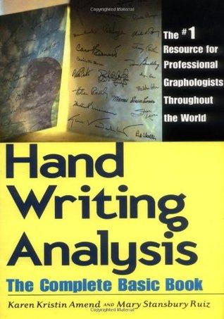 Análisis de escritura a mano: el libro básico completo