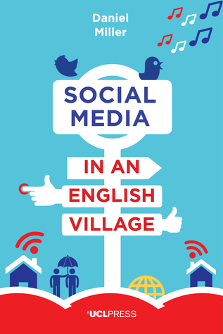 Medios de comunicación social en un pueblo inglés