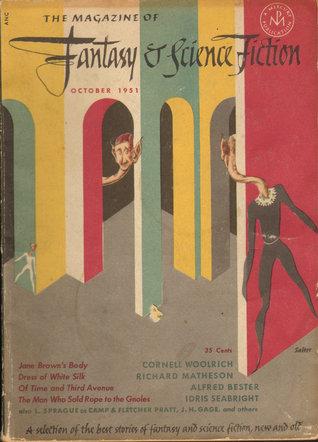 La revista de fantasía y ciencia ficción, octubre de 1951