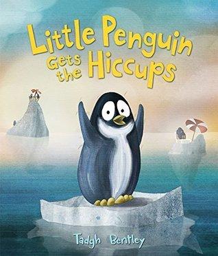 El pequeño pingüino consigue los hipo