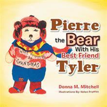 Pierre el oso con su mejor amigo Tyler