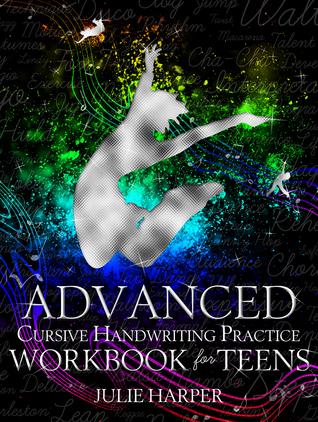 Libro de ejercicios de práctica de escritura cursiva avanzada para adolescentes