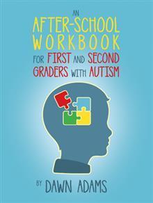 Un libro de ejercicios después de la escuela para los estudiantes de primer y segundo grado con autismo