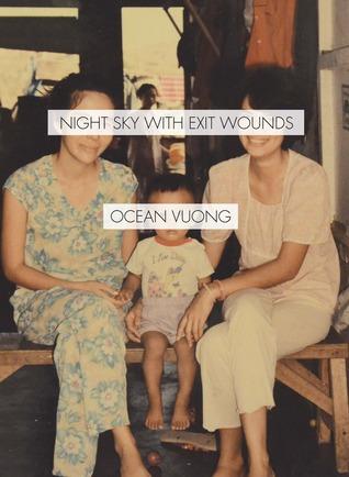 Cielo nocturno con heridas de salida