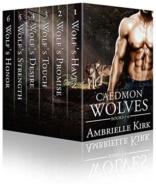 Caedmon Wolves ~ A Wolf Shifter Paranormal Romance Colección de 6 libros