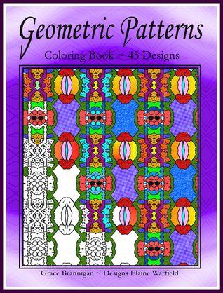 Diseños geométricos Coloring Book 45 Designs