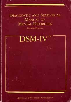 Manual Diagnóstico y Estadístico de los Trastornos Mentales DSM-IV