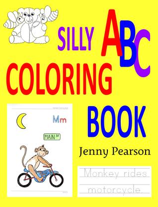 Libro para colorear tonto de ABC: Aprenda escribir el alfabeto