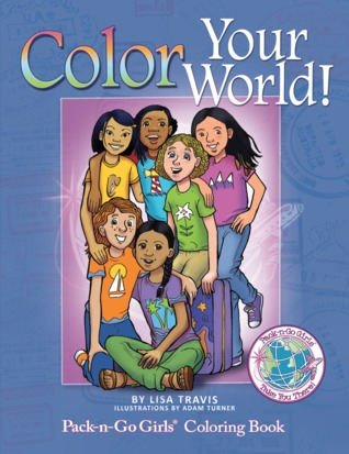 Colorea tu mundo: Pack-n-Go Girls Coloring Book