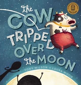 La vaca tropezó sobre la luna