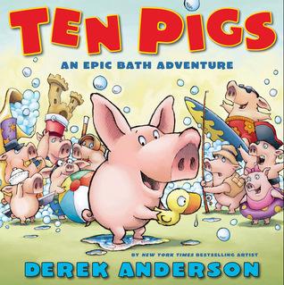 Diez cerdos: una aventura épica de baño