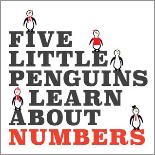 Cinco pequeños pingüinos aprenden sobre los números