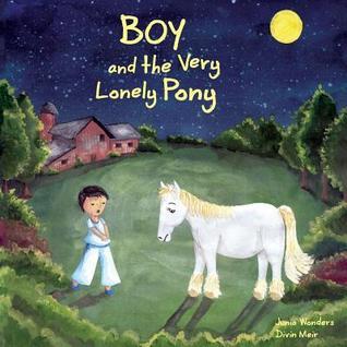 Niño y el Pony muy solitario