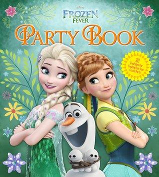 Libro de cumpleaños de la fiebre congelada de Disney