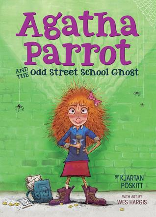 Loro de Agatha y el fantasma de la escuela de la calle impar