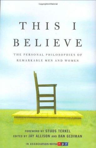 Esto creo que: La filosofía personal de hombres y mujeres notables