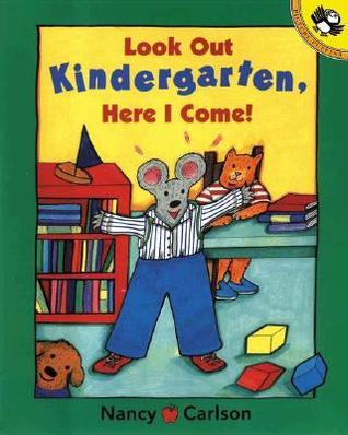 Mire hacia fuera el jardín de la infancia, aquí vengo