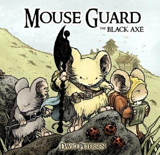 Protector del ratón: El hacha negra
