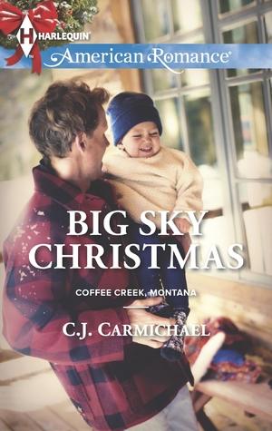 Navidad del cielo grande