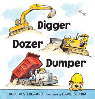 Excavadora, Bulldozer, Volquete