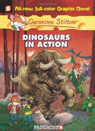 ¡Dinosaurios en acción!