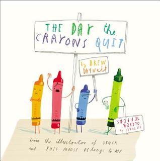 El día en que los crayones abandonan