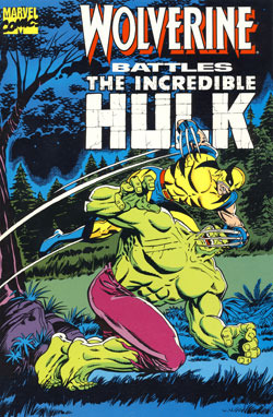 Stan Lee presenta a Wolverine Battles the Incredible Hulk