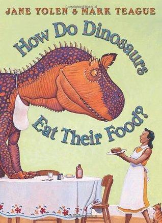 ¿Cómo comen los dinosaurios su comida?