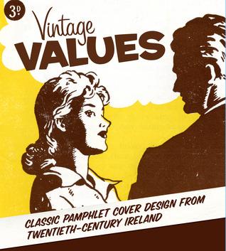 Valores del vintage: Diseño clásico de la cubierta del panfleto del vigésimo siglo Irlanda