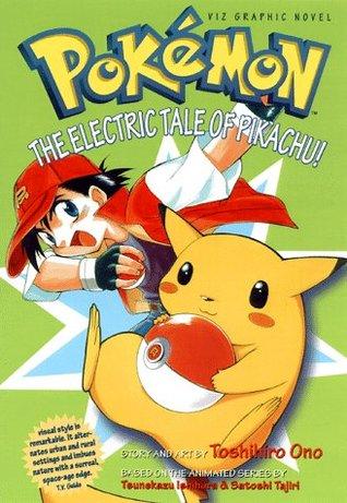 Novela gráfica de Pokemon, volumen 1: ¡El cuento eléctrico de Pikachu!