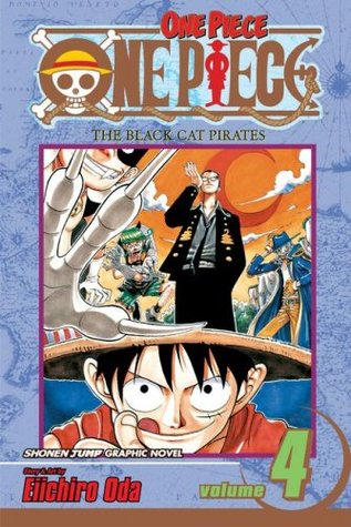 One Piece, Volumen 04: Los Piratas del Gato Negro