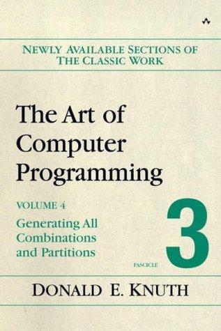 El arte de la programación informática, Volumen 4, Fascículo 3: Generación de todas las combinaciones y particiones