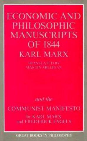 Manuscritos económicos y filosóficos de 1844 / Manifiesto comunista