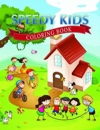 Libro para colorear Speedy Kids