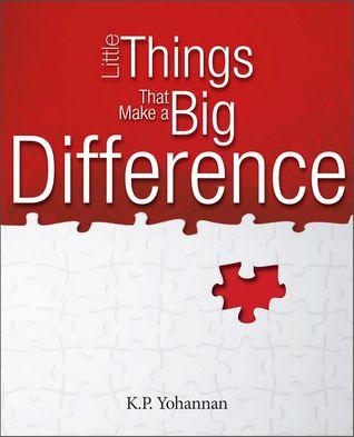 Pequeñas cosas que hacen una gran diferencia