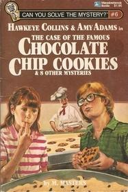 Hawkeye Collins y Amy Adams en el caso de las famosas galletas de chocolate y 8 otros misterios