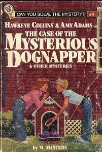 Hawkeye Collins y Amy Adams en el caso del misterioso Dognapper y otros misterios