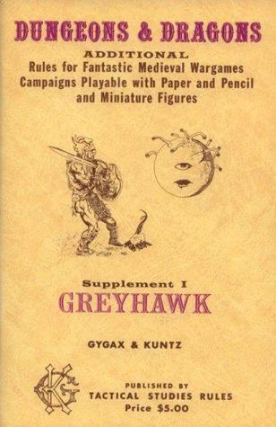 Greyhawk: Reglas Adicionales para Fantásticas Campañas de Wargames Medievales Jugables con Papel y Lápiz y Figuras en Miniatura
