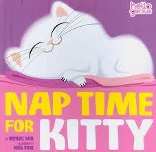 Tiempo de la siesta para el gatito