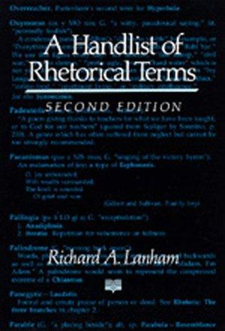 Una lista de términos retóricos
