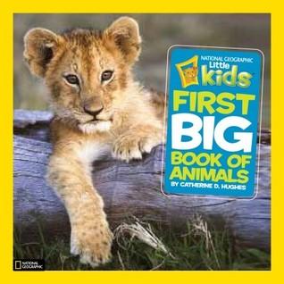 Pequeños niños primer libro grande de animales