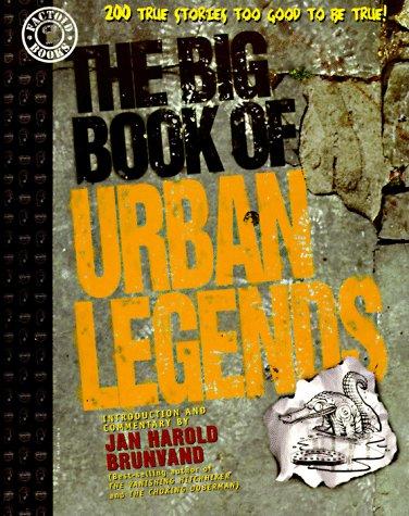 El gran libro de las leyendas urbanas