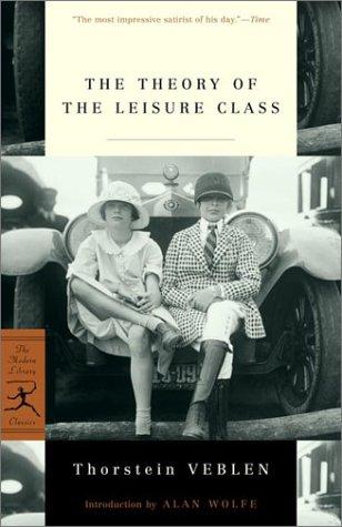 La teoría de la clase de ocio (Modern Library Classics)