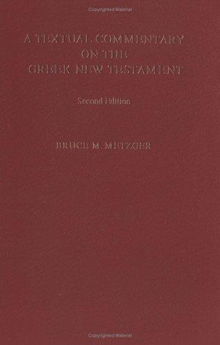 Comentario textual sobre el Nuevo Testamento griego